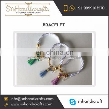 Latest Silk Rope Bracelet Fashion Accessories at Reliable Price