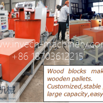 Hydraulic Wood Block Machine
