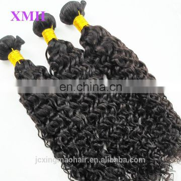 Natural color 100% unprocessed human virgin hair extension natural hair styles for black women