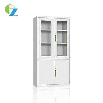 Modern cold office furniture swing double door metal steel storage file cabinet