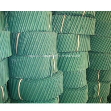 High quality PVC film fill packing 850*1000 mm packing sheets for cooling tower