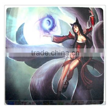 rubber printed magic mouse pads mats factory