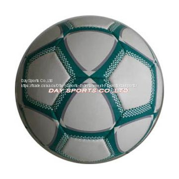 hand-stitched soccer ball