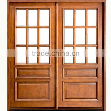 Good Quality Wooden Mosquito Net Door Design Customized Of Wood Door