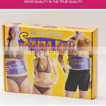 wholesale High Quality Healthy Electric Quick Body Slimming Waist Tummy Sauna Massage Weight loss belt