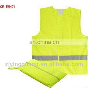Reflective Vest For Kids With Two Horizontal Hi-visibility Reflective Tape