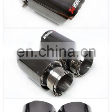 Akrapovic Carbon fiber exhaust tips/ akrapovic carbon fiber exhaust pipe