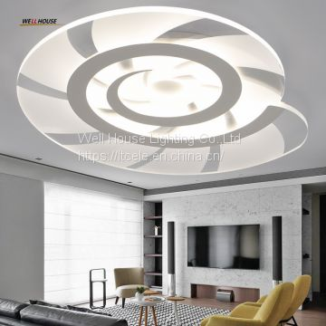 Modern LED Ceiling Lights Acryl Round Conch Ceiling Lamp Home luminaria Living Room Dining fixtures Lustre Indoor Light