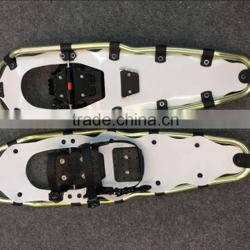 adjustabe binding ski snowshoes