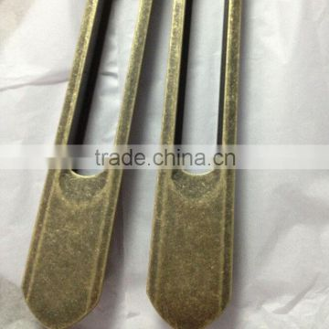 Alloy lock surface plating ancient gold processing locks accessories electroplating process