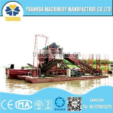 mini gold dredger