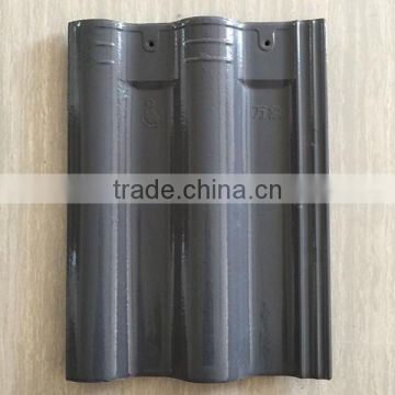 Yixing waterproof house clay roof tile double bent clay roof tiles