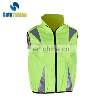 The most durable safety reflective fluorescent bike vest