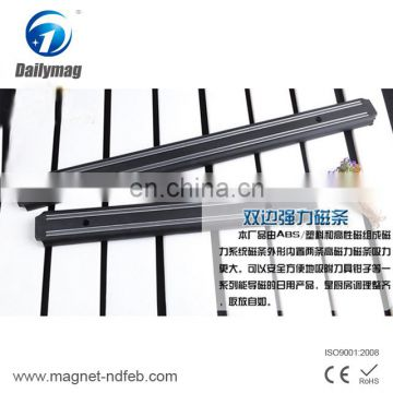 Industrial magnet application and permanent type magnetic steel kitchen knife bar