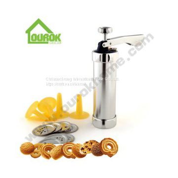 MANUAL ALUMINUM COOKIE PRESS FOR DIY BQ-4