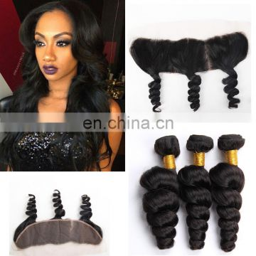 burmese wavy curly pre plucked ear to ear lace frontal with bundles wholesale virgin burmese hair