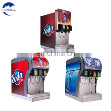 Pick and mixdispenserwith 4 valves, post mixdispenserforcola