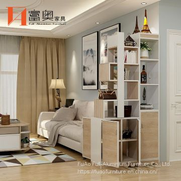 All Aluminum Living Room Furniture Entrance Decorative Cabinet