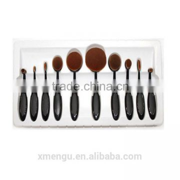 New Arrival Facial Brush Cosmetic Brush Make Up Brush Set 10pcs/set