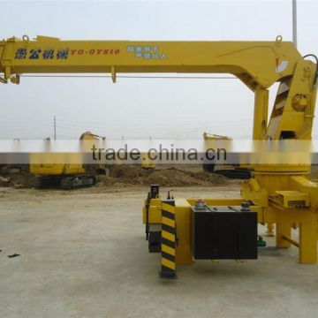 QYS2t 2t hitachi crane truck wheel buggy for sale