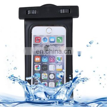Waterproof Carrying Case with Touch Responsive Front & Lanyard for iPhone 6 Plus(Black)