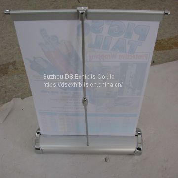 Table Roll up banner stand