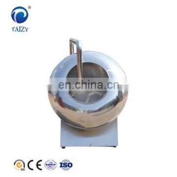 Small  semi automatic chocolate popcorn coating pan  machine