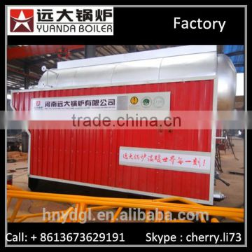 6 mt wood fired boiler for food industry