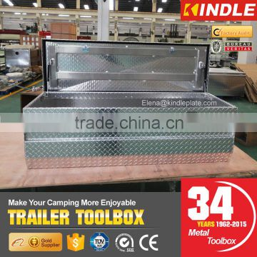 factory direct sales diamond plate pickup aluminum truck toolbox                                                                         Quality Choice