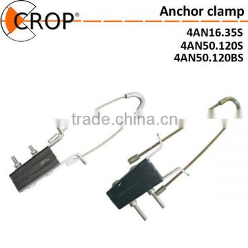 China Supplier AN Type Cable Fitting Insulated Anchoring Clamp/High Quality Aerial Anchoring Tension Clamp