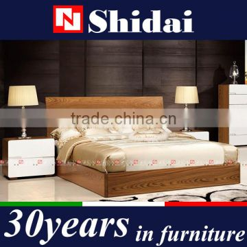 Double Bed Teak Wood Bedroom Set B 813 Of Wood Bed From China
