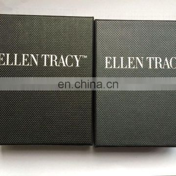 hard carton paper finished Jewelry box packaging, can customize logo