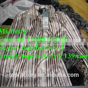 Top quality Factory used clothing for africa used clothing for export