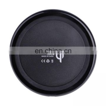 2018 mobile phone custom qi wireless Charger cellphone battery charger for iPhone X for Samsung