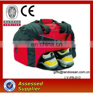 gym bag with shoe compartment
