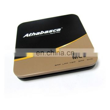 Professional Customized Square simple CD case metal tin box