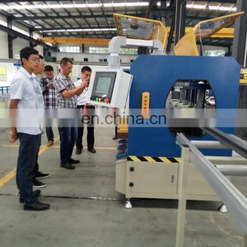 Five-axis CNC profile rolling machine for aluminium thermal break
