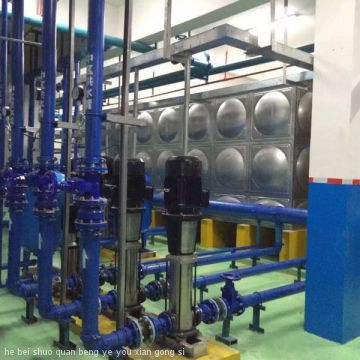 No Negative Pressure Frequency Conversion Water Supply Equipment|Secondary pressurized water supply