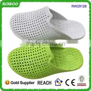 Breathable Clogs Slip On shoes men,two colored breathable sandals