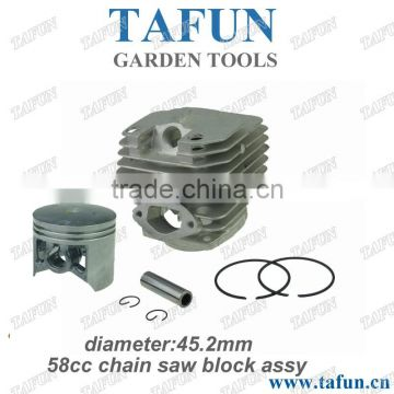 5200 chainsaw parts 45mm 2 stroke piston ring