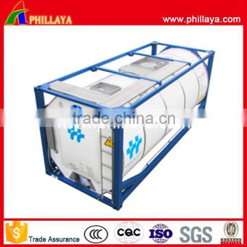 40000L transportation lng lpg iso tank container 20ft for sale