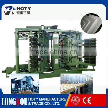 Fully automatic sandwich panel production line