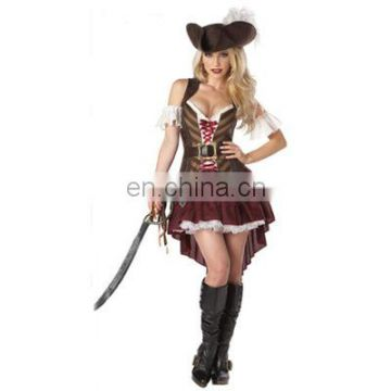 Halloween cosplay Pirates of the Caribbean costume for women