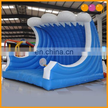 AOQI water park inflatable surfing board with free EN14960 certificate