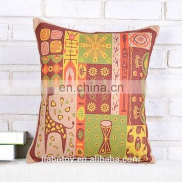 Hot Sale Creative Cartoon Pattern Decorative Pillows,Massage Cushions Printing Cushion ,Garden logo design Can Be Customized