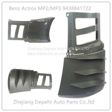 Heavy Duty European Truck Body Parts Corner Panel Benz Actros MP2/MP3 Truck Plastic Air Deflector 9438841822 9438841722