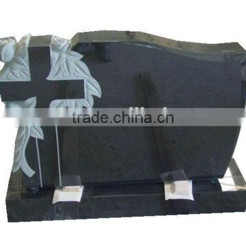 Hot-Selling Popular Cheao Black Granite cemetery headstones prices
