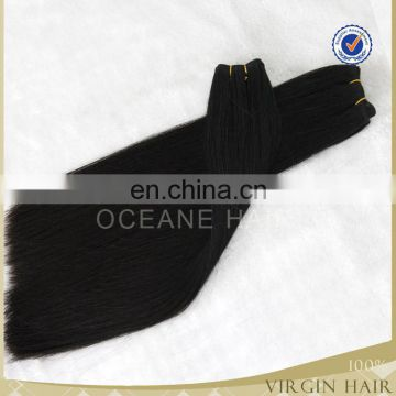 soft thick remy hair extension double drawn hair