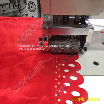 Ultrasonic fabric embossing machine,fabric cutting machine