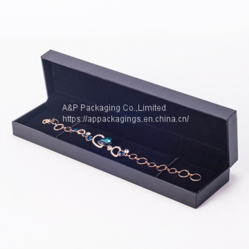 Custom size and printing jewelry gift box necklace box bracelet box